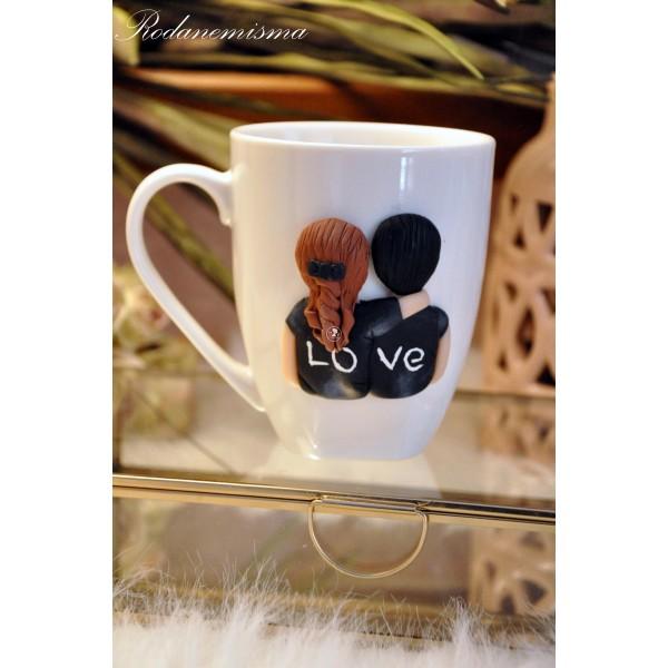Κούπα ζευγάρι Love